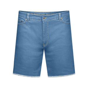 Active Jeans Shorts Lyocell (TENCEL) Recycled Blau - bleed
