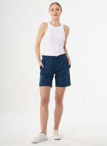Paperbag-Shorts aus Leinengemisch - ORGANICATION