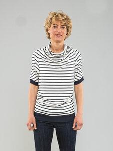T-Shirt mit Streifen - Kollateralschaden