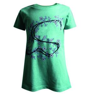 T-Shirt 'Flower' Mädchen - SOLIDUDE