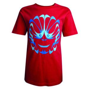 T-Shirt 'Monkey' Jungs in Rot, Gelb und Grün - SOLIDUDE