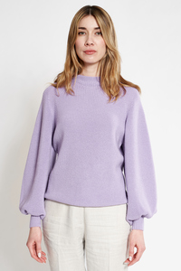 Pullover mit Ballon Ärmeln - t7berlin
