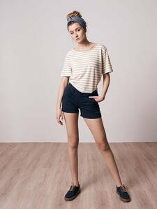 Micro-Chino Shorts Damen - bleed