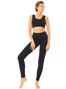 Yogahose Rib - High Waist Rib Legging - Mandala