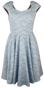 Elegantes Bio-Satin-Kleid - anzüglich organic & fair