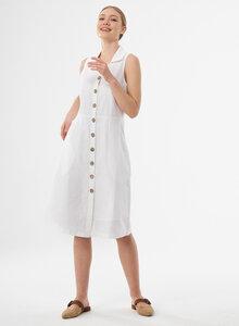 Hemdkleid aus Leinen und Bio-Baumwolle - ORGANICATION
