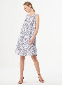 Kleid aus TENCEL mit Blumenmuster - ORGANICATION