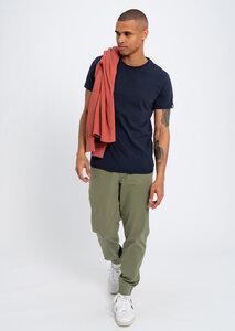 T-Shirt aus Bio Baumwolle blau | Basic T-Shirt - recolution