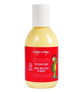 Sanftes Waschgel für Körper & Haare mit Mandelöl & Sanddorn-Extrakt - Uoga Uoga