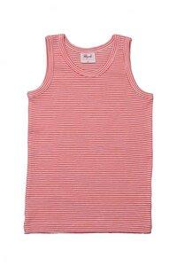 Unterhemd rot gestreift - People Wear Organic
