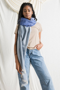 Recycelter Baumwolle-Schal - Anni - Rifò - Circular Fashion