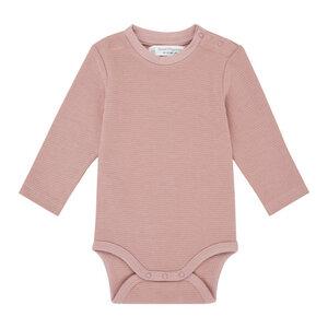 Baby- Body Langarm *Malu* woodrose I GOTS & Bio I Sense Organics - sense-organics