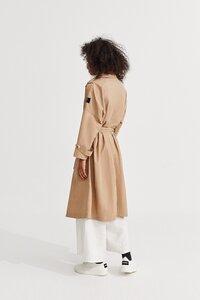 Oversize Trenchcoat Damen MOS, Farbe topo - ECOALF