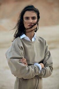 Damen Sweatshirt EARTH aus Biobaumwoll-Jersey, vegan - ECOALF