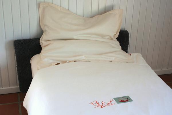 bettw sche 2tlg set 135x200 kissenbezug piranha koralle biobaumwoll satin kba von ia io. Black Bedroom Furniture Sets. Home Design Ideas
