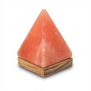 Tischleuchte aus Salzkristall LED Pyramide - Mitienda Shop