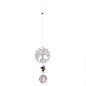Windspiel mit Kristall Baum des Lebens - Mitienda Shop