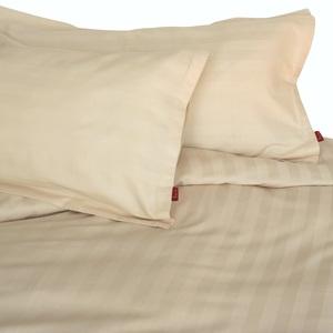 Kissenbezug 40x80 cm 'Klassische Streifen'  Baumwollsatin (kbA) - ia io