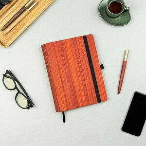 """Notizbuch """"WoodBook A5"""" aus Holz, Bucheinlage wechselbar - JUNGHOLZ Design"""