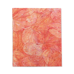 "Notizbuch ""Lotus Pond"" aus handgeschöpftem Recycling Baumwoll-Papier - Sundara"