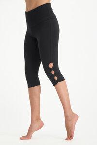 Capri Yoga Legging Shanti – Bio-Baumwolle - Urban Goddess