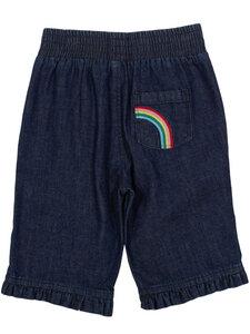 Mädchen 3/4 Jeans Rainbow reine Bio-Baumwolle - Kite Clothing