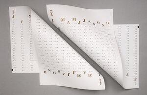 Wandkalender 2022 - tyyp