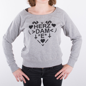 Herzdame - Girl Sweater - Hell Couture - Hell Couture