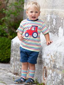 Baby und Kinder T-Shirt Farm Play Traktor reine Bio-Baumwolle - Kite Clothing