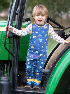 Baby Latzhose Farm Play reine Bio-Baumwolle - Kite Clothing