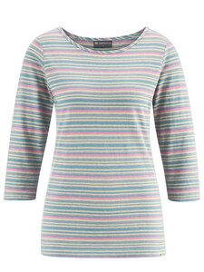 Damen Dreiviertelarm-Shirt Hanf/Bio-Baumwolle - HempAge