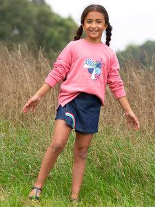 Jeanskort Rainbow reine Bio-Baumwolle - Kite Clothing