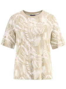 Damen halbarm T-Shirt Hanf/Bio-Baumwolle - HempAge
