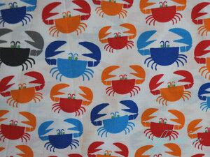 Bio Baumwollstoff - Krebse / Crabs - Cloud 9 Fabrics