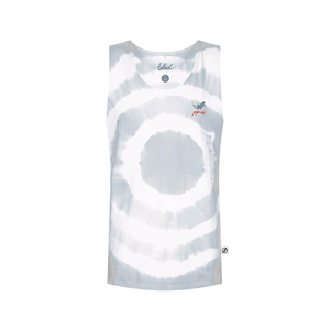 Goforit Muscle Shirt Weiß - bleed