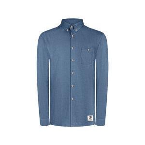 Light-Breeze Lyocell (TENCEL) Hemd Blau - bleed