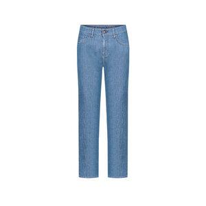 Moms Jeans Lyocell (TENCEL) Damen Recycelt Blau - bleed