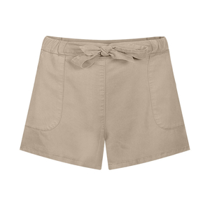 Easyaspie Lyocell (TENCEL) Shorts Damen Sand - bleed