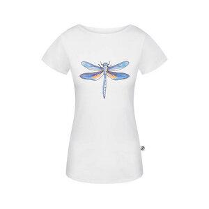 Lakefly T-Shirt Damen Weiß - bleed