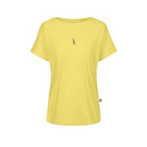 Fernster Forestfibre T-Shirt Damen Gelb - bleed