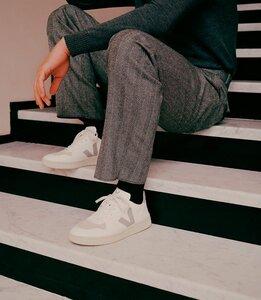 Sneaker Herren Vegan - V-10 CWL - FULL WHITE NATURAL - Veja