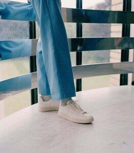 Sneaker Herren - V-12 Leather - Extra White - Veja