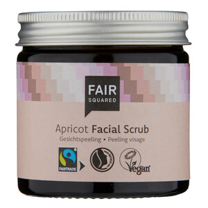 Fair Squared Facial Scrub 50ml Apricot - Fair Squared
