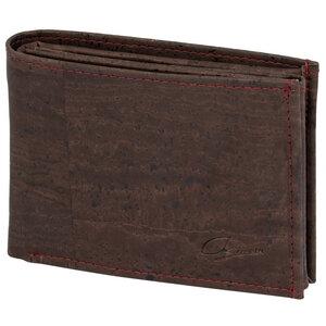 Herren-Geldbörse Kork, 11+ Karten & Sichtfenster, Querformat - Simaru