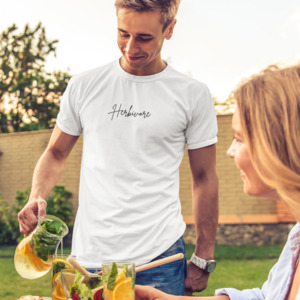"Organic ""Herbivore"" T-Shirt, 100 % Bio-Baumwolle - BVeganly"