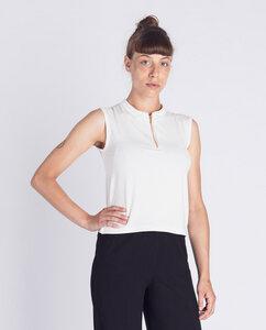 Damen Top aus Bio-Baumwolle - Half-Zip Reißverschluss - Degree Clothing