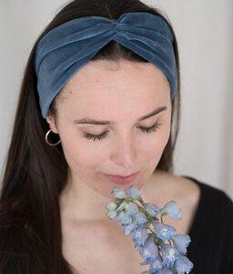 Haarband Bow aus Bio Samt - obumi
