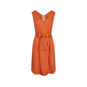 Light-Breeze Lyocell (TENCEL) Kleid Orange - bleed