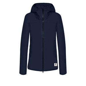 SYMPATEX® Rainshell Jacke Damen Blau - bleed