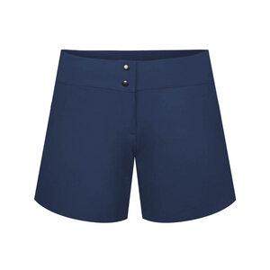 ECONYL® Ultra Light Shorts Damen Dunkelblau - bleed